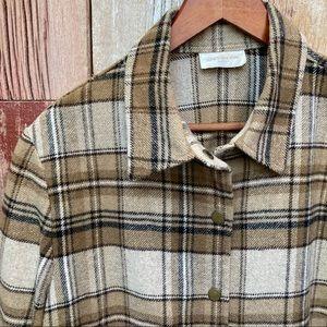 Jones New York Shirt Jacket L